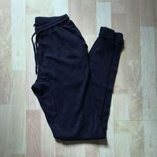 NWOT Brandy Melville Navy Blue Thermal Sweatpants