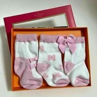 [全新] Kate Spade BB 襪禮盒