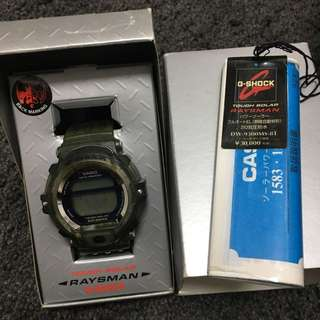 罕有CASIO G-SHOCK DW-9300MS RAYSMAN MAN IN SMOKE