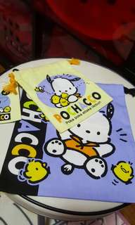 Pochacco Duo Drawstring Bag