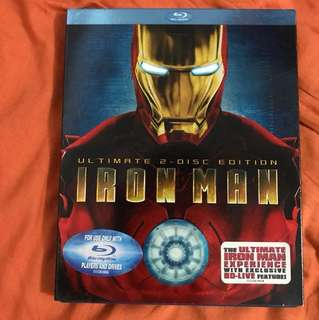 Iron Man Ultimate 2-Disc Edition Blu-ray