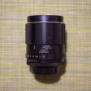 Pentax M42 135mm F2.5 Lens Film Camera SLR
