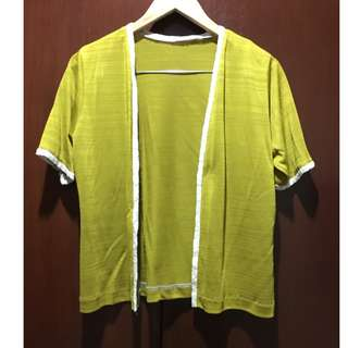 Bright Mustard Yellow Cover Up