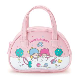 [PO] Sanrio Little Twin Stars Mini Boston Bag Style Pouch