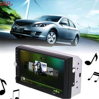 2 Din mp5 player and reverse camera (free spy pen camera)