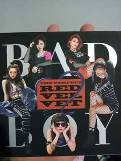 "Red Velvet Album ""Bad Boy"""