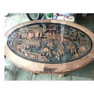 Antique Ba Xian Coffee Table