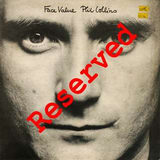 Phil Collins, Vinyl LP, used, 12-inch original pressing (mint)