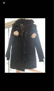 Authentic women's mooseknuckle parka