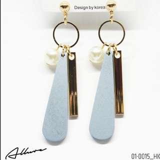 韓國耳環 Earrings design by Korea