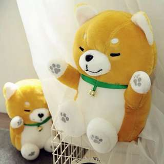 PO Fat Shiba Inu plushie / soft toy / huggable plush