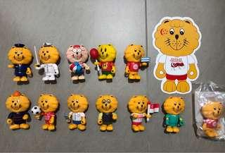 Majulah Singapore Lion Collectibles