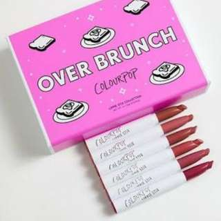 Colourpop Over Brunch
