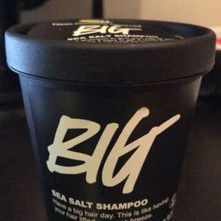 Lush Big sea salt shampoo