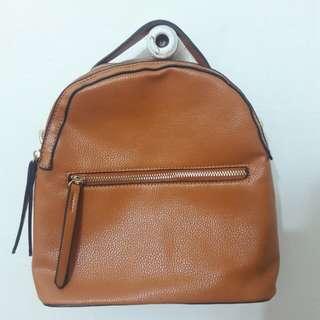 VOIR Brown Backpack