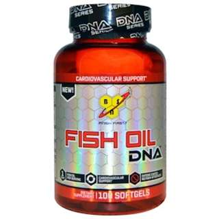 BSN, Fish Oil, DNA, Cardiovascular Support, 100 Softgels
