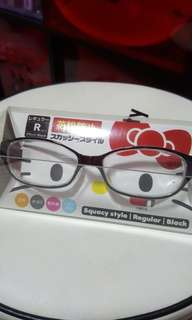 Hello Kitty Black Spectacles