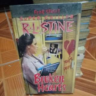 Broken Hearts by RL Stine