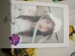 Nayeon Special Photocard