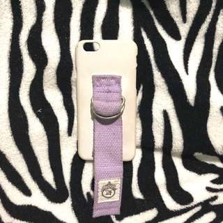 Iphone 6 lavander strap case