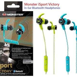 <<快閃優惠買一送一>>Monster iSport Victory 藍芽耳機