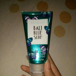 Bath & Body Works Bali Blue Surf Ultra Shea Body Cream 71 gram