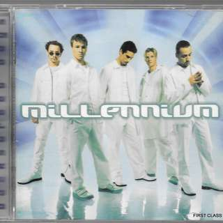 MY PRELOVED CD -  BACKSTREET BOYS - MILLEENNIUM /FREE DELIVERY (F3G))