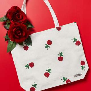 [ORIGINAL] cotton on tote bag kanvas canvas tas sekolah kerja kuliah h&m hnm pull&bear stradivarius bershka