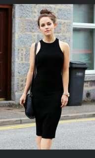 Black Cotton On Bodycon Dress
