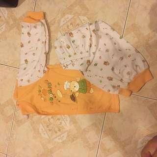 Orange pyjamas 6m-12m