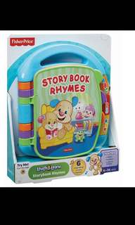 Fisher price storybook rhymes