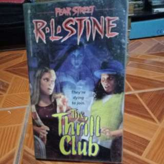 The Thrill Club by RL Stine