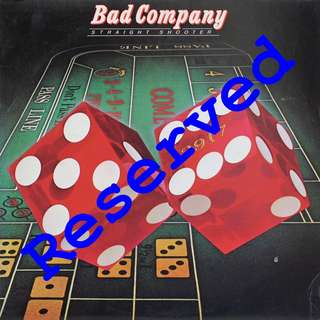 Bad Company Vinyl LP, used, 12-inch original pressing