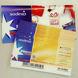Gift Certificate — buying Sodexo GC less 5% - 10%