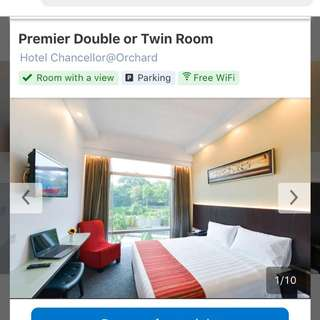 Stay 2 nights at Hotel Chancellor@Orchard from 7 to 9 Apr 2018