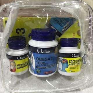 Ocean omega 3, memore, coco omega