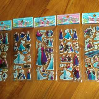 Stickers 3D Frozen