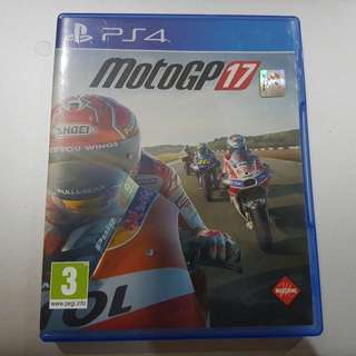 PREOWNED. Kaset PS 4 MotoGP