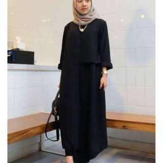 Rx. Iza Dress Black, Army, Grey, Mustard