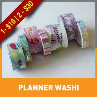 Trendy Icon Washi Tube