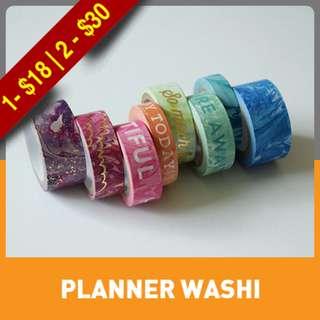 Marble Words Washi Tape Tube
