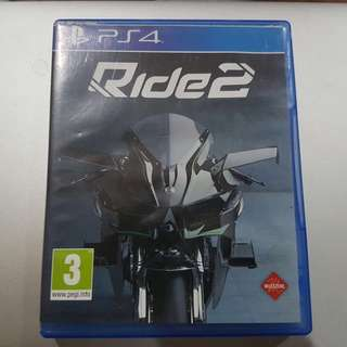 PREOWNED. Kaset PS 4 Ride 2