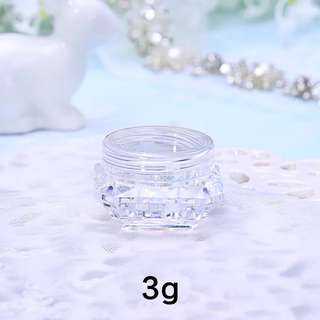 Empty cream container 3g