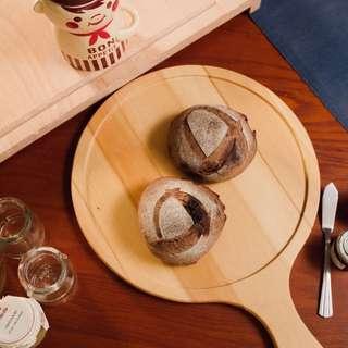 🚚 「麦䅘」-可可巧克力豆酸種麵包(純手工無添加)