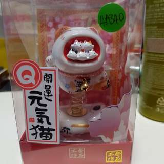 Fortune Cat (嘴大吃四方) very cute & lucky cat. can also stick on to ur car dssh box