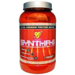BSN, Syntha-6, Protein Powder Drink Mix, Chocolate Milkshake, 2.91 lbs (1.32 kg)