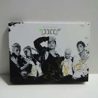 2014年 韓國版 JJCC 1ST MINI ALBUM 親筆簽名 CD