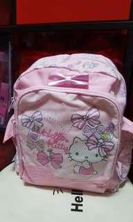 Hello Kitty Toddler Pink Back Bag