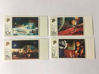 Singapore 1987 Science Centre mnh