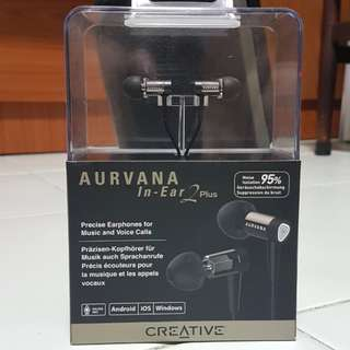 Creative In-Ear 2 Plus noise isolation